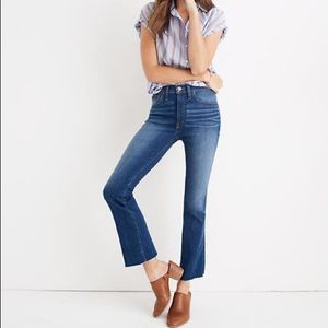 Madewell High Riser Jeans Size 31